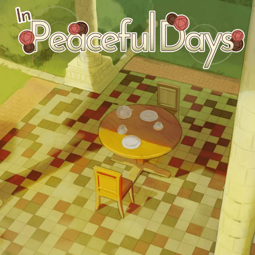 In peaceful days OST album cover