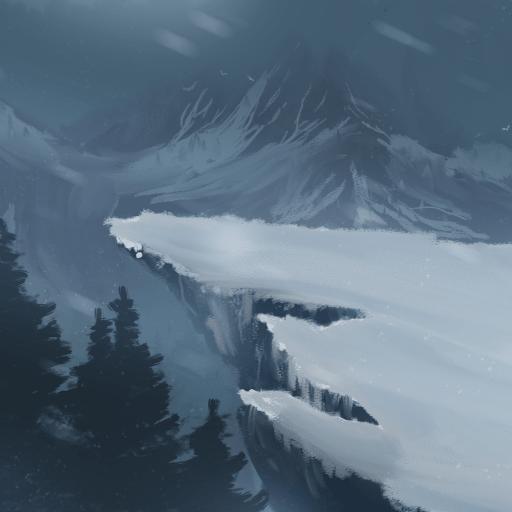 Piercing Snowflake, Water Shield & Blurred Moon album cover